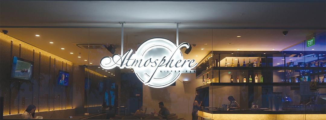 Atmosphere Bistro And Bar East Coast Park | Portfolio | Creative  Elifestyles Pte Ltd